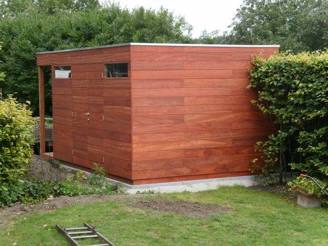 Modern tuinhuis kubus